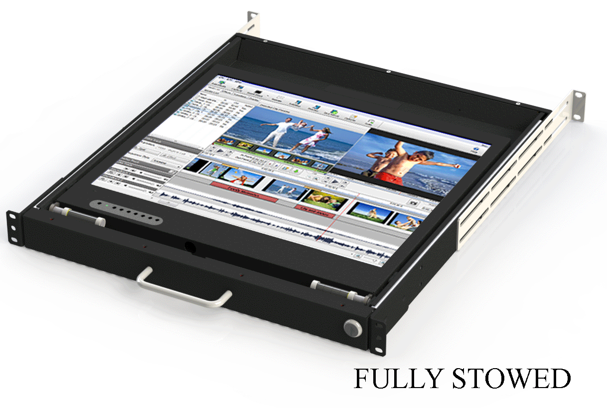 1u Lay Flat Monitor Drawer Dit