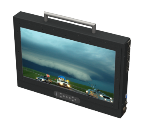 Ruggedized Broadcast mobile monitor