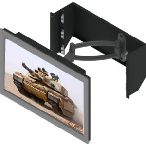 Panel rack mount display